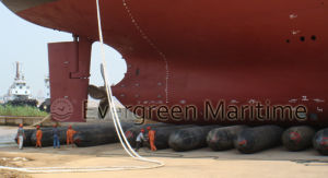 Air Filled Heavy Lift Marine Rubber Floating Dock Pontoon, Inflatable Rubber Pontoon pictures & photos