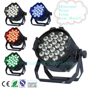Newest Stage Lighting 24*10W RGBW 4in1 PAR LED Lamp pictures & photos