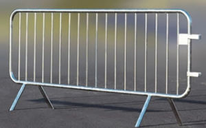 Galvanized Tube Barricade for Traffic pictures & photos