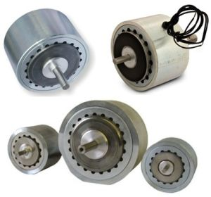 Double Shaft Standard Magnetic Metal Brake for Electrical Equipment pictures & photos