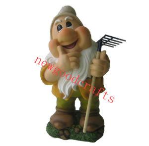 Polyresin Garden Gnome (ST8860 1-7)