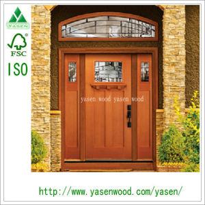 Customer Exterior Door Large Unequal Double Door