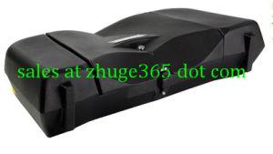 Durable V Model Black ATV Front Box