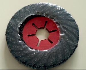 Spiral Ribbed Flexible Grinding Disc