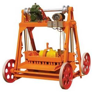 No Pallet Block Machine (QMY4-45)
