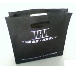 New Arrival Custom Made Clear Convenient Non Woven Wine Bag with Handle (MECO492) pictures & photos
