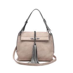 Vintage Snakeskin Tassel Chain Unique Women Handbags (MBNO043029) pictures & photos
