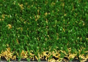 Hybrid Turf for Landscaping With Monofilament Grass and Twisted Grass