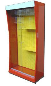 Metallic Cabinet with Glass Door pictures & photos