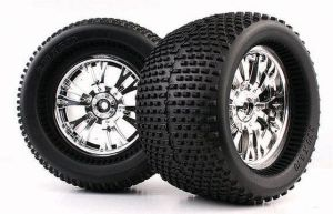 1/8 Monster Truck Tire Mechanix /Spikes (WC1007)