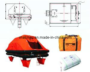ISO 9650 Regulation Valise Pack Yacht Life Raft pictures & photos