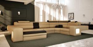 Leather Corner Sofa (C091)