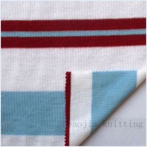 CVC Auto Stripe Double Face Fabric (LMP00006)