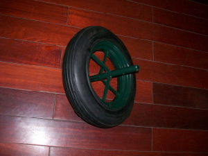 Solid Rubber Wheels (14x4)
