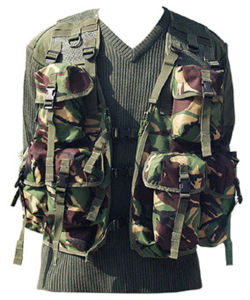 Combat Field Camouflage Police Vest (RS02-06E) pictures & photos