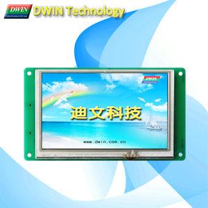 """Economic 5.0"""" Uart TFT LCD Module/HMI, Touch Screen Optional, Dmt80480c050_02W"""