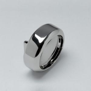 Round Metal Buckles Custom Debossed Jewelry Metal Hang Tags pictures & photos
