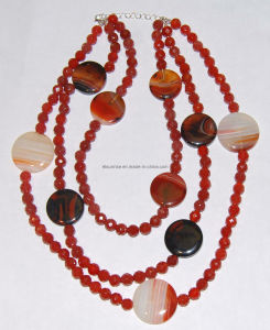 Fashion Natural Crystal Stone Agate Bead Charming Necklace Jewelry pictures & photos