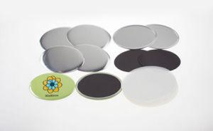 60X90mm Rubber Magnet Button pictures & photos