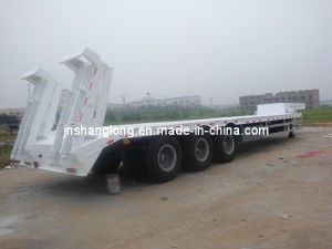 Low Price Low Plate Semi-Trailer /3 Axles Trailers pictures & photos