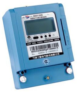 Single-Phase Prepaid Static Meter (DDSY188 F3)