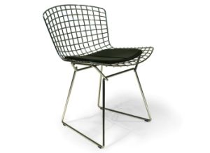 Modern Dining Restaurant Knock Down Wire Chair pictures & photos