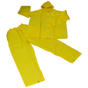 Rain Coat with PVC/Polyester