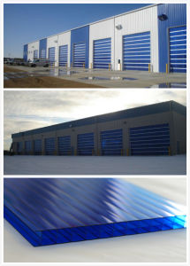 10mm Polycarbonate Sheet Twin Wall Clear Macrolux Twin-Wall Polycarbonate Sheet pictures & photos