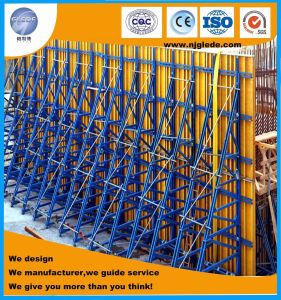 High Efficient Single-Side Formwork for Retaining Wall pictures & photos