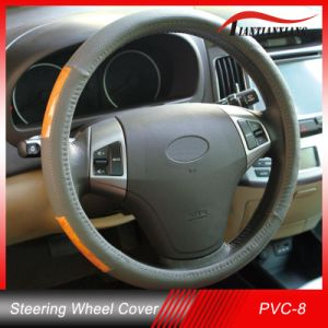 Wholesale High Quality PVC with Wood Car Steering Wheel Cover