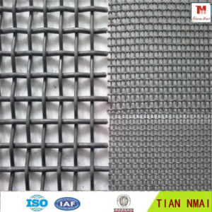 Mining Use Crimped Wire Mesh Factory pictures & photos