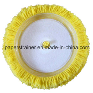 High Quality Yellow Wool Pad 180mm pictures & photos
