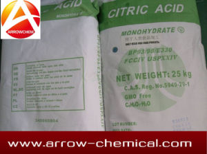 Citric Acid 5949-29-1 Mono Anhydrous pictures & photos