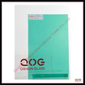 Dark Green Laminated Glass CE. SGS, 3c