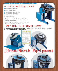 by-50b20 Welding Turntable with Welding Chuck pictures & photos