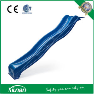2.2m Blue Wavy Slide for Swing Set pictures & photos