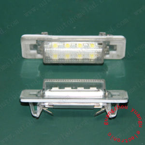 Samsung SMD LED Lighting License Plate Lights for Mercedes Benz W210 4D Sedan, W202 4D Sedan Facelif Parts