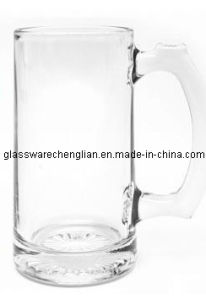 Very Cheap Machine-Made Beer Glass Mug (PJB-07) pictures & photos