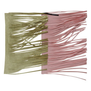 Hot Sell PU Leather Tassel Garment Accessories Trimming Lace 0037 pictures & photos
