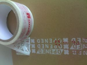 Anti-Counterfeiting Adhesive Seal Tamper Evident Security Warranty Void Tape