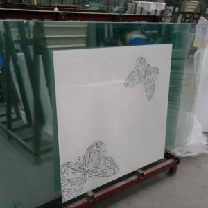 Serigraph Decorative Glass with Different Color pictures & photos