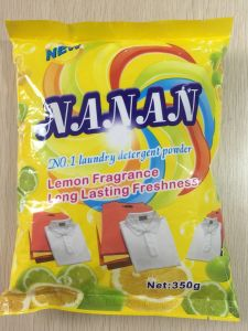 Nanan (Lemon fragrance) for Laudry Washing Powder, Detergent Powder, Clothes Washing Powder, Bulk Detergent Powder, China Detergent Manufacture pictures & photos