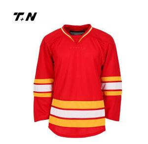 Best Quality Slim Fit Dye Sublimation Ice Hockey Jersey, Ice Hockey Shirt pictures & photos