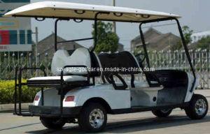 Electric Utility Car (EG2049KSZ, 6-Person, with The Rear Flip-Flop Seat) pictures & photos