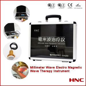 Electromagnetic Wave Diabetes Skin Treatment Machine pictures & photos