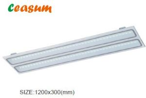 1200*300mm Frosted Prism Panel LED Grille Light