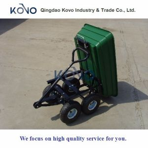 75L Garden Mini Dump Cart with Plastic Tray pictures & photos