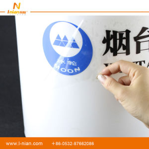 Custom Printing Transparent Company Brand Logo Hollowed Stickers pictures & photos