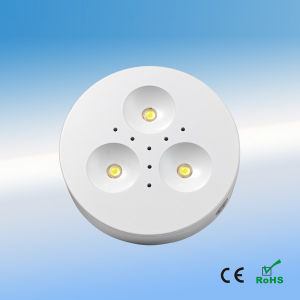 Surface Mount 1W*3 LED Puck/Cabinet Light