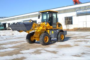China 1000kg Mini Bucket Loader with Euro III Xinchai Engine pictures & photos